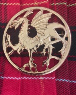 Welsh Dragon Brooch