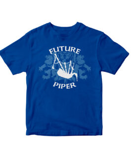 """""""Future Piper"""" Blend Youth Tee (Royal)"""